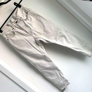 All Saints Spitafields low boyfriend ankle jeans